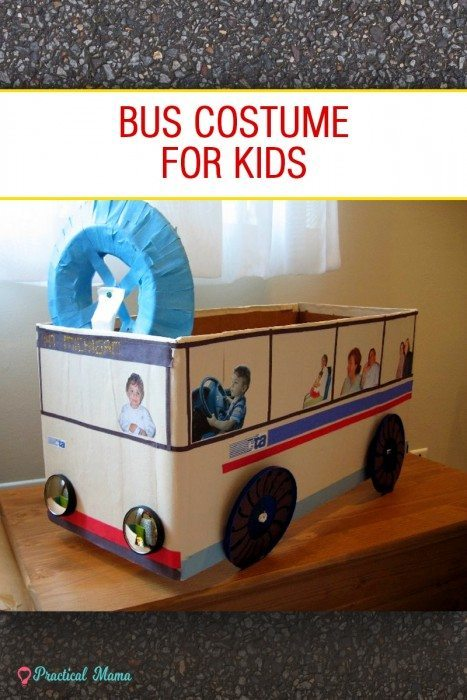 Bus costume for kids