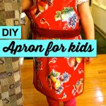 How to sew apron for children