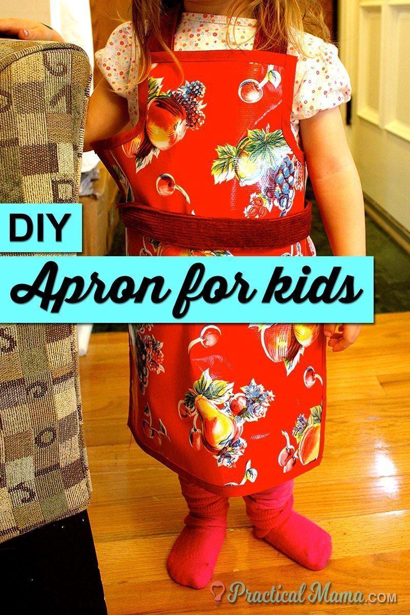 DIY apron for children