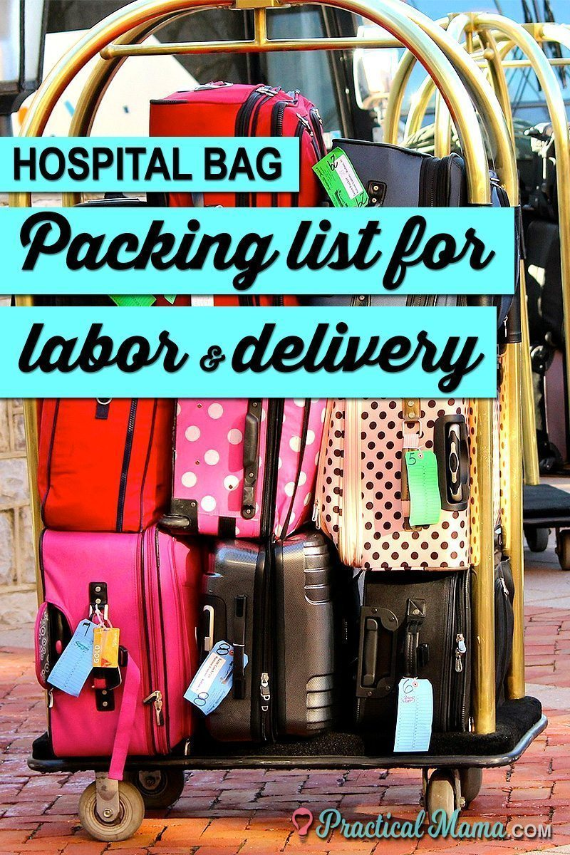 Hospital bag checklist labor delivery