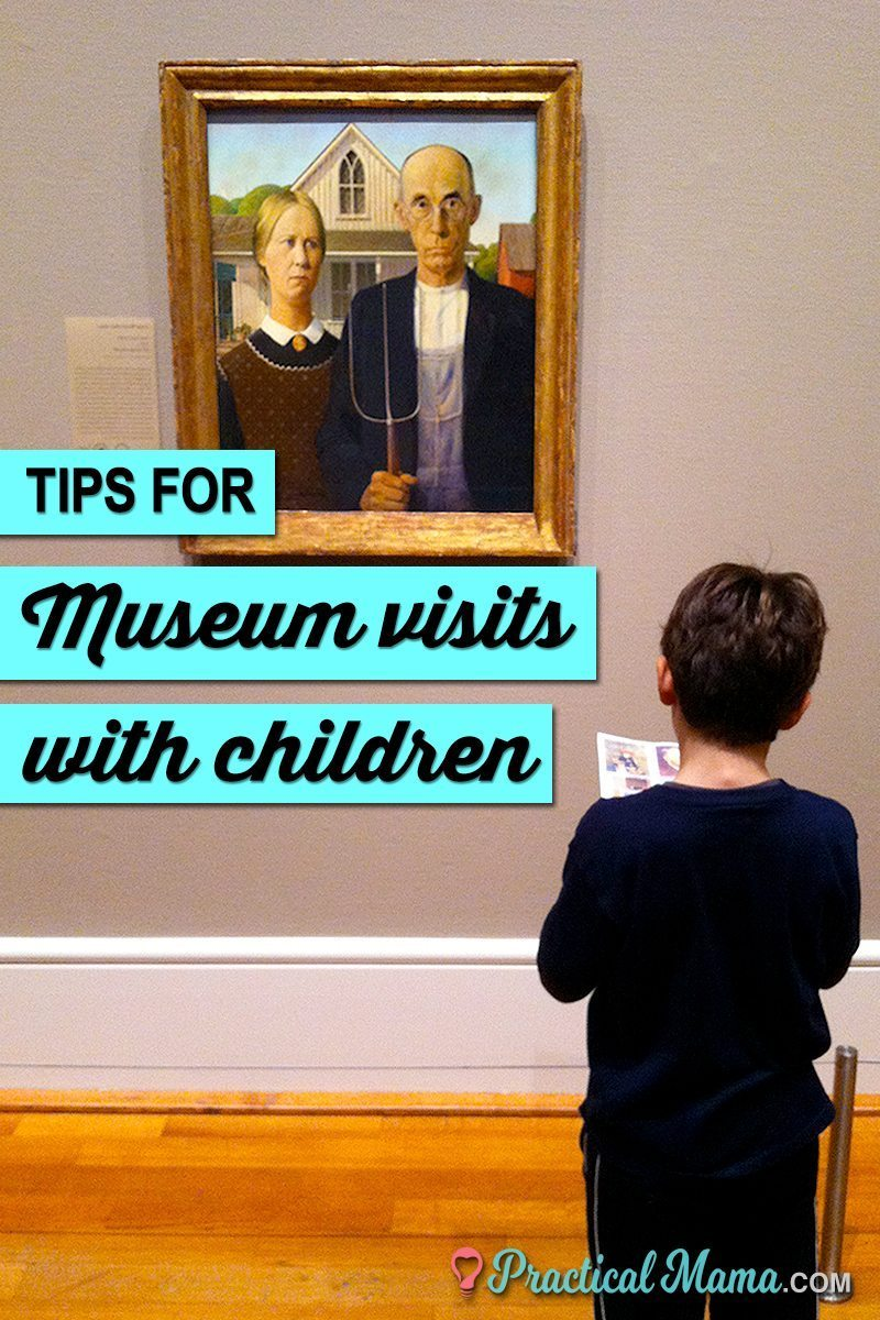 Games and tips to make your next museum visit with kids the best one