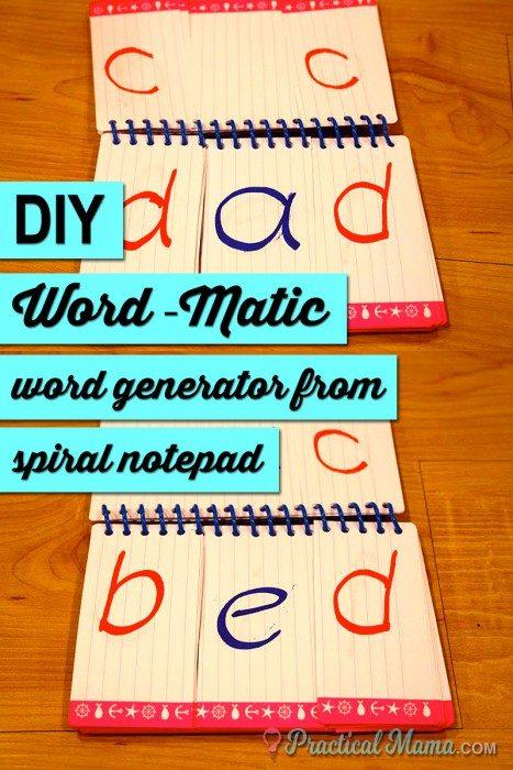 Word generator speller