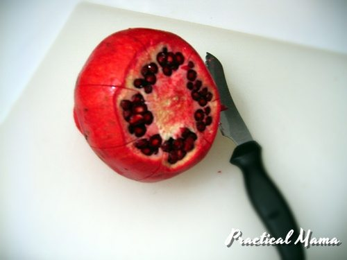 how to deseed pomegranate