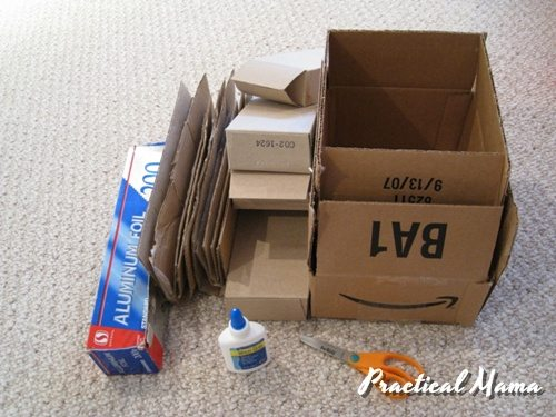 How To Make A Robot With Used Cardboard Boxes