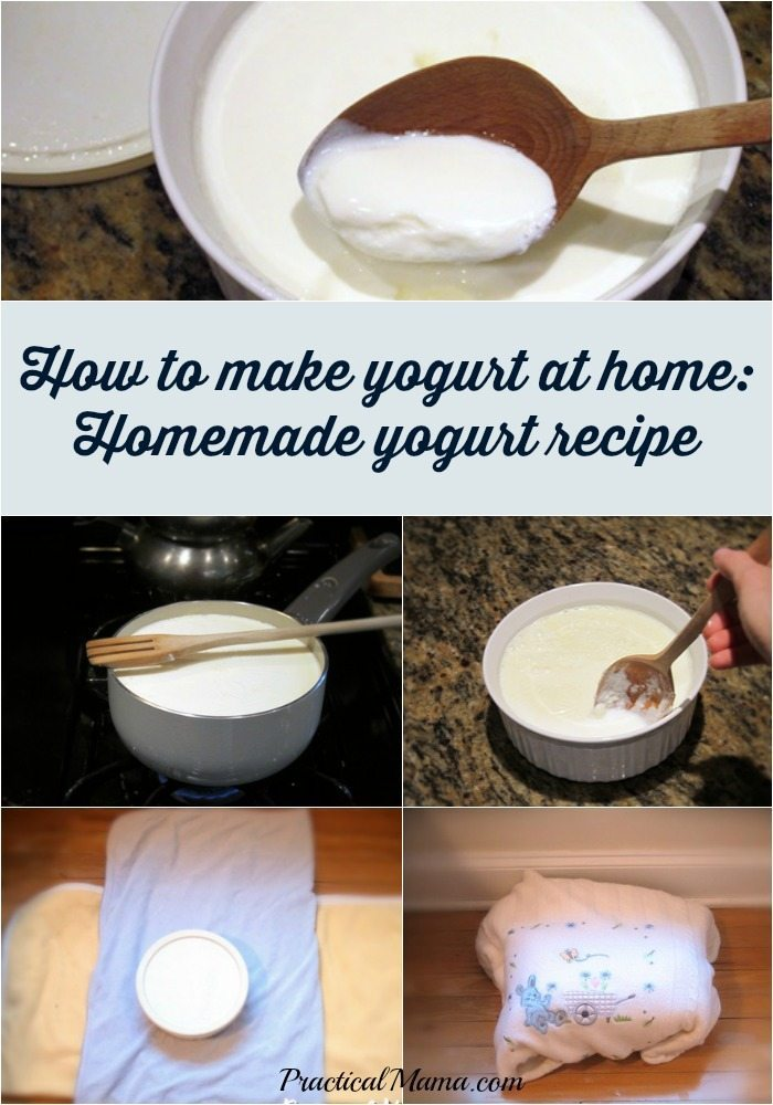 How To Make Yogurt Homemade Yogurt Recipe