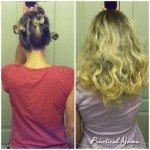 Easy way to curl your hair overnight