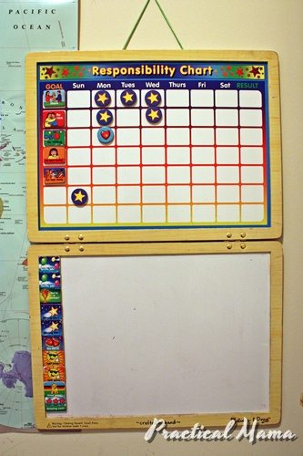 Product Review: Responsibility Chart by Melissa & Doug