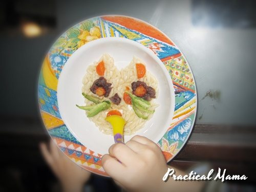 Fun looking, great tasting meals for children