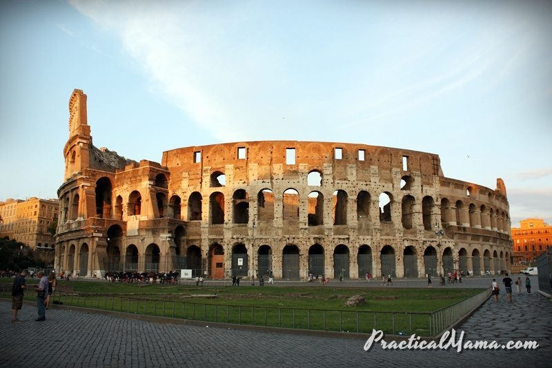 Rome with Children: Day 3 – Pantheon, Piazza Navona, Colosseum