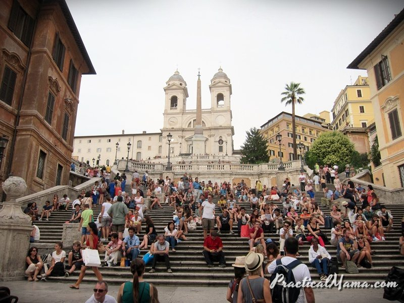 Rome with Children: Day 2 – Villa Borghese, Spanish Steps, Trevi Fountain