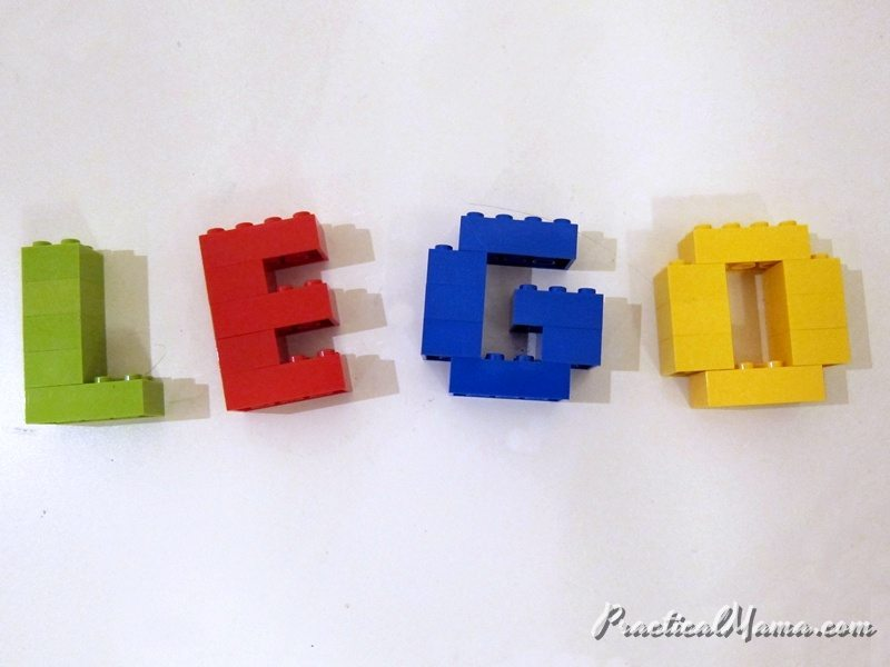 Organizing LEGOs: Alternative storage idea for LEGO pieces