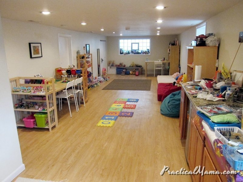 Redesigning our playroom
