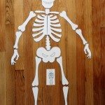 Halloween activity – Skeleton puzzle