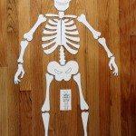 Halloween activity – Skeleton puzzle