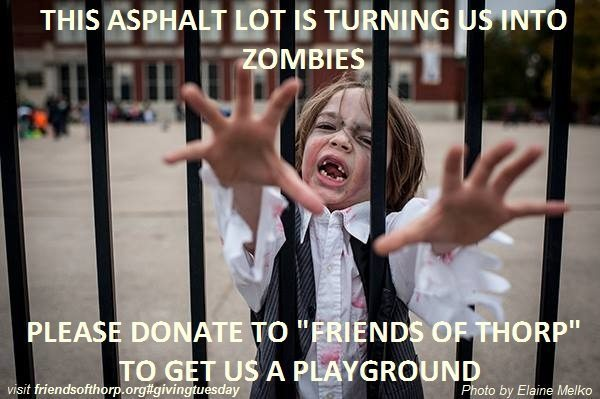 Let's give these kids a playground on Giving Tuesday