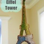 Arts & Crafts: Glittery Eiffel Tower