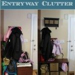 Organizing entryway clutter