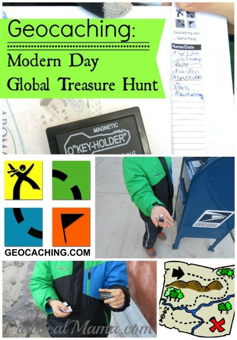 Geocaching Modern Day Global Treasure Hunt