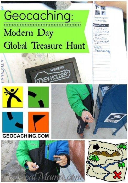 Geocaching Modern Day Global Treasure Hunt