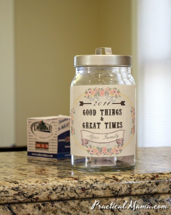 Good Things & Great Times Jar