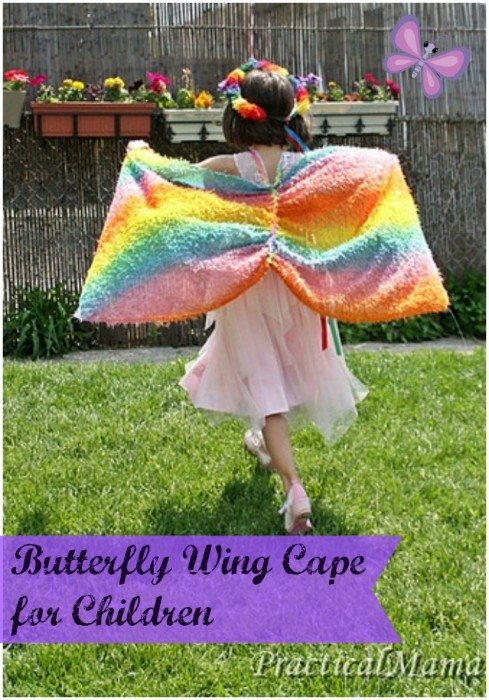 Butterfly Wings Cape for Children