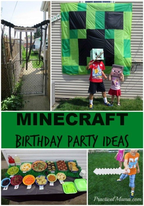 MinecraftBirthdayParty