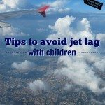 Tips to avoid jet lag with children
