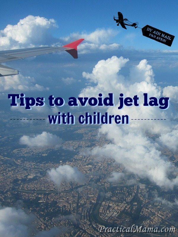 Tips to avoid jet lag with children