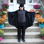 DIY: Batman cape costume for children
