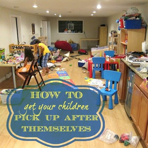 10 tips to get your children pick up after themselves