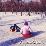 Winter fun:  Snow activities for children