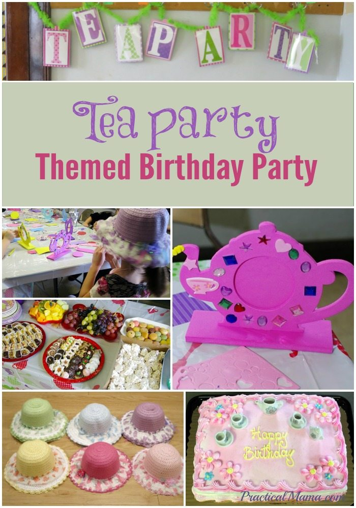 Tea Party Themed Birthday Party Ideas