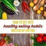 Stop dieting, start eating healthy