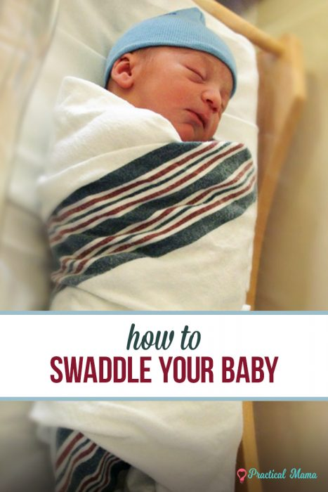 how to swaddle newborn