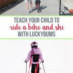 Product Review: Luckybums ski and bike trainer for children