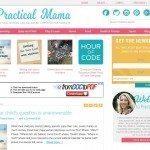 PracticalMama.com got a facelift