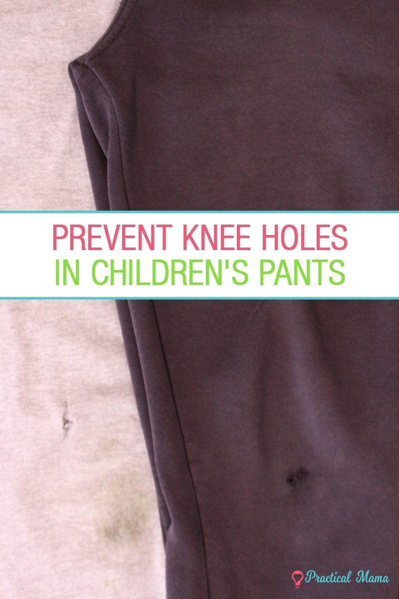 Homemade knee pads for crawling babies - -
