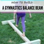DIY- How to build a balance beam