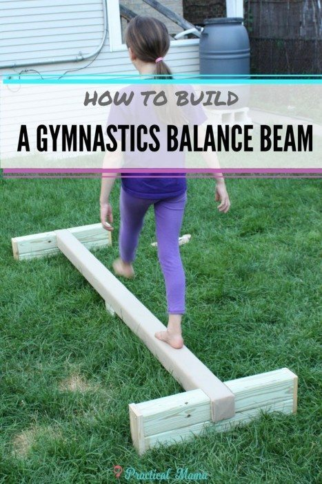 How to build balance beam