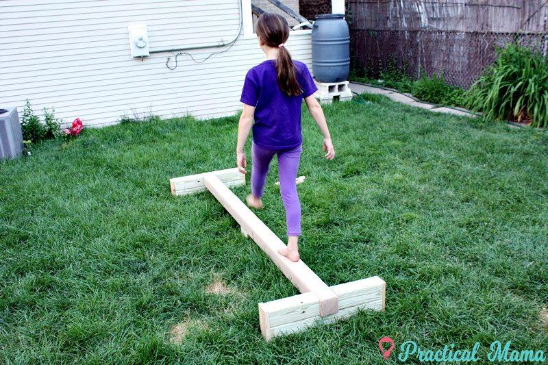 Diy How To Build A Balance Beam