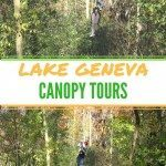 Family Travel: Lake Geneva Canopy Tours