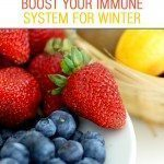 How to boost your family's immune system in the winter