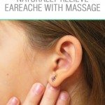 Earache relieving massage