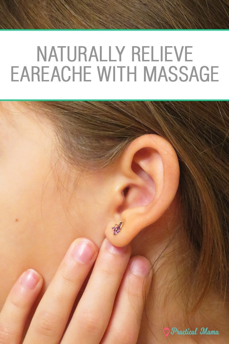 massage for ear infection and earache - -