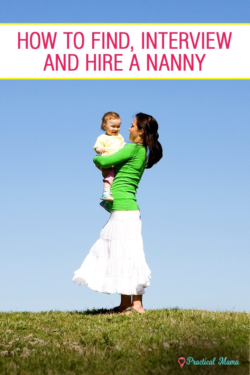 how to find a nanny