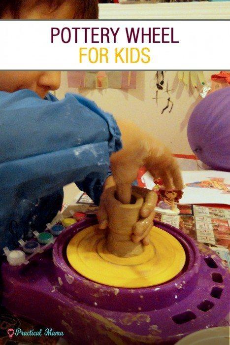 Pottery wheel for kids