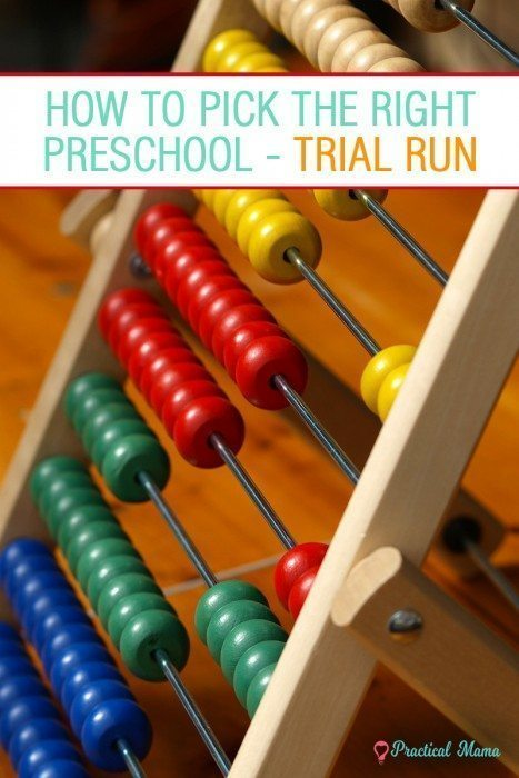 Preschool trial