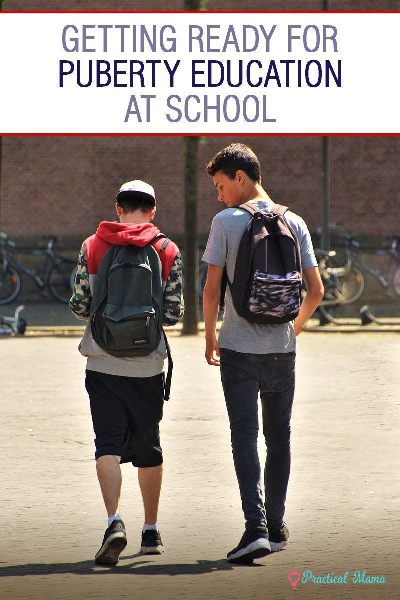 Puberty Education at Schools
