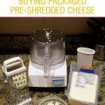 Why you should grate your cheese at home instead of buying shredded cheese