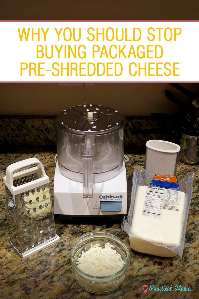 Why you should grate your cheese at home - Practical Mama